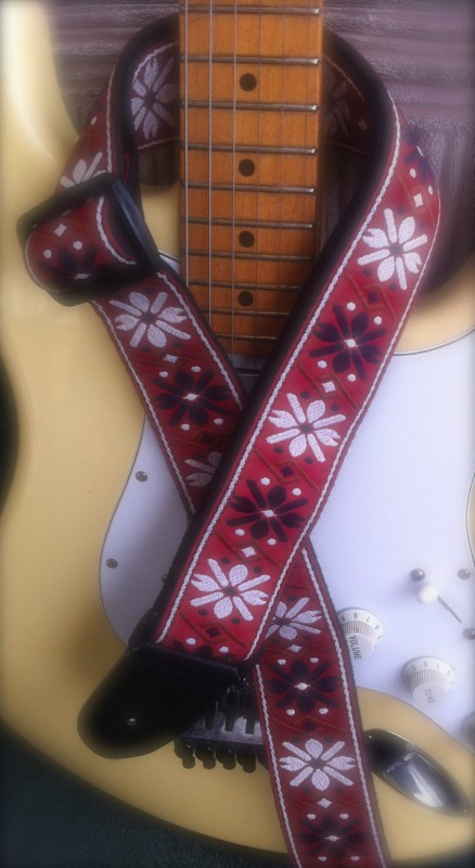 Jimi Hendrix design guitar strap – Ideal xmas gift present – Bargain ...