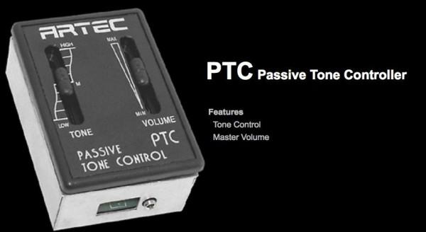 Artec PTC Passive professional Preamp + PP607 piezo + standard jack kit